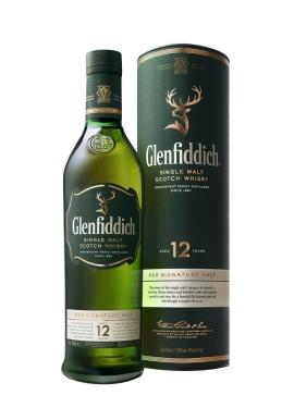 WHISKY GLENFIDDICH 12 AÑOS 750 CC.