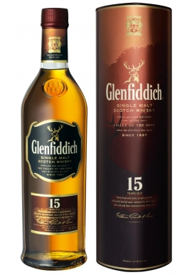 WHISKY GLENFIDDICH 15 AÑOS 750 CC.