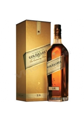 WHISKY JOHNNIE WALKER GOLD LABEL 750 CC.