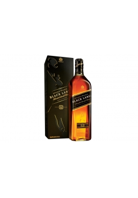 WHISKY JOHNNIE WALKER BLACK LABEL 750 CC