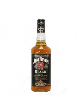 WHISKY JIM BEAM 8 AÑOS ET. NEGRA 750 CC.